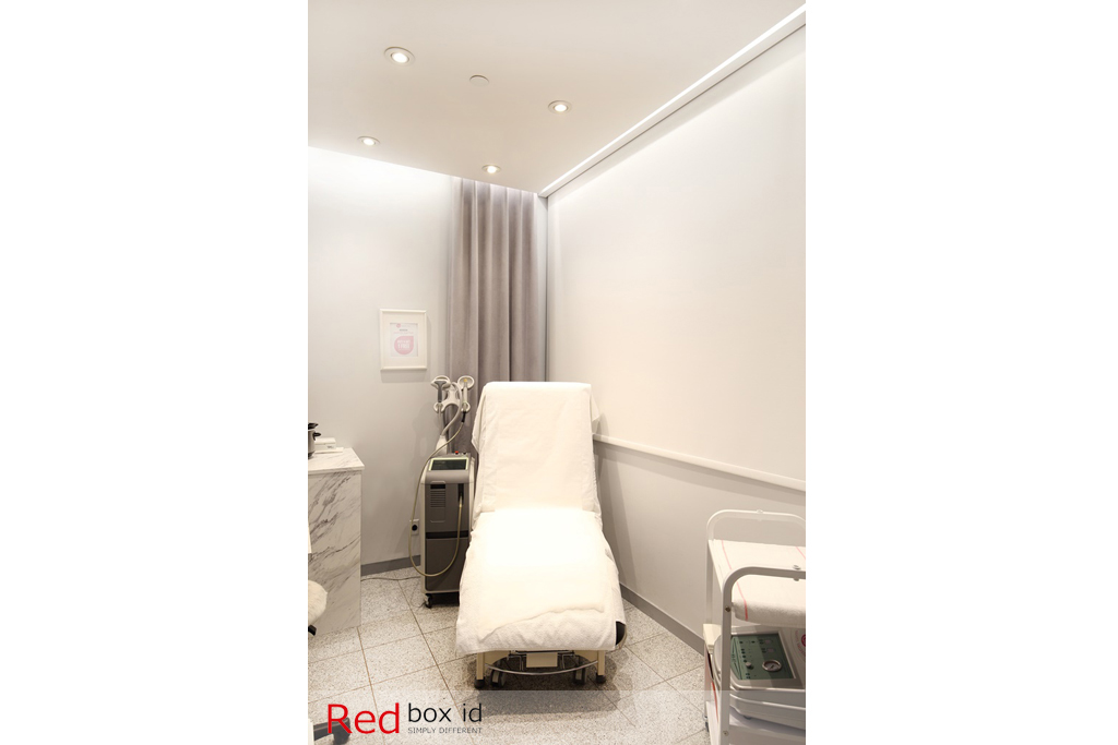 NuAge Laser Clinic Consultation Room Designed by Red Box ID
