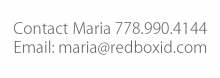 Maria - Red Box ID